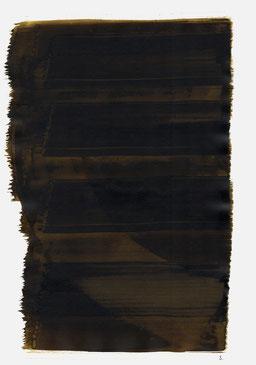 """""""Endloser Schrei 23:54 Uhr"""", 2015, 48 x 36cm"""