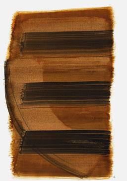 """""""Aufschrei 14:39 Uhr"""", 2015, 48 x 36cm"""