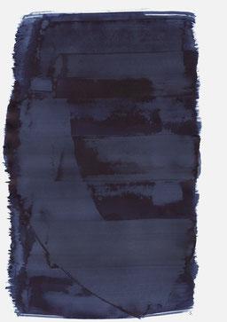 """""""Aufschrei 17:03 Uhr"""", 2016, 48 x 36cm"""