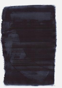 """""""Aufschrei 00:18 Uhr"""", 2015, 48 x 36cm"""