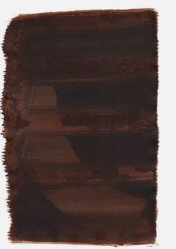 """""""Aufschrei 17:18 Uhr"""", 2017, 48 x 36cm"""
