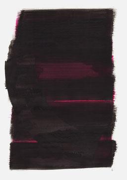 """""""Aufschrei 05:38 Uhr"""", 2016, 48 x 36cm"""