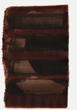 """""""Schrei 19:31 Uhr"""", 2015, 48 x 36cm"""