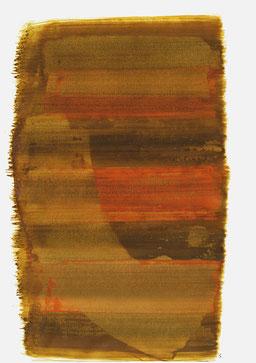 """""""Schrei 16:42 Uhr"""", 2015, 48 x 36cm"""