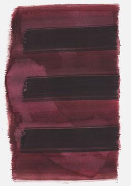 """""""Schrei 10:17 Uhr"""", 2017, 48 x 36cm"""