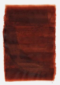 """""""Schrei 20:42 Uhr"""", 2015, 48 x 36cm"""