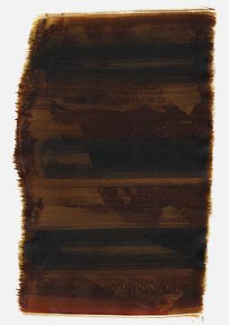 """""""Aufschrei 23:46 Uhr"""", 2015, 48 x 36cm"""