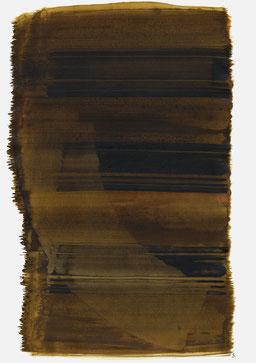 """""""Aufschrei 21:57 Uhr"""", 2015, 48 x 36cm"""