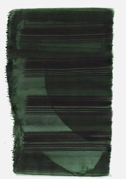 """""""Schrei 11:12 Uhr"""", 2015, 48 x 36cm"""