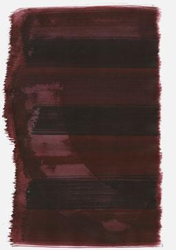 """""""Aufschrei 22:30 Uhr"""", 2016, 48 x 36cm"""