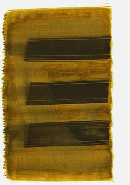 """""""Schrei 16:44 Uhr"""", 2016, 48 x 36cm"""