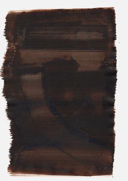 """""""Schrei 22:57 Uhr"""", 2016, 48 x 36cm"""