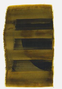 """""""Schrei 15:42 Uhr"""", 2016, 48 x 36cm"""