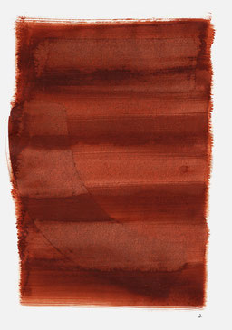 """""""Schrei 12:49 Uhr"""", 2015, 48 x 36cm"""