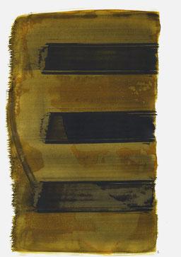 """""""Aufschrei 18:19 Uhr"""", 2016, 48 x 36cm"""