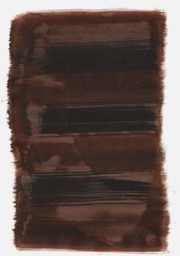 """""""Schrei 12:28 Uhr"""", 2017, 48 x 36cm"""