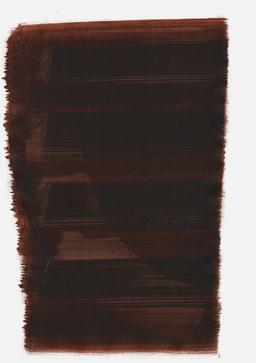 """""""Endloser Schrei 22:09 Uhr"""", 2017, 48 x 36cm"""