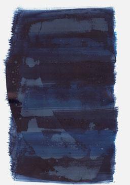 """""""Aufschrei 21:41 Uhr"""", 2018, 48 x 36cm"""