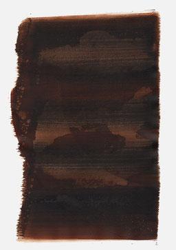 """""""Schrei 20:29 Uhr"""", 2016, 48 x 36cm"""