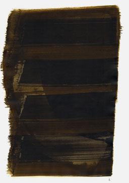 """""""Aufschrei 21:49 Uhr"""", 2015, 48 x 36cm"""