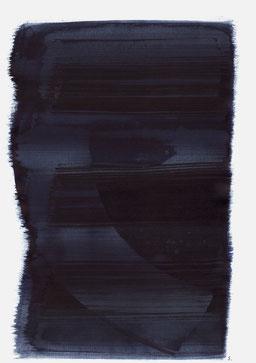 """""""Schrei 04:21 Uhr"""", 2015, 48 x 36cm"""