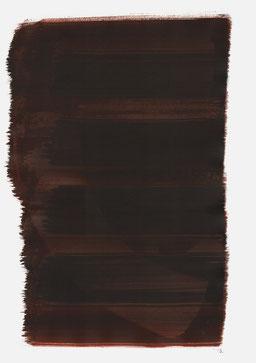 """""""Aufschrei 22:50 Uhr"""", 2017, 48 x 36cm"""