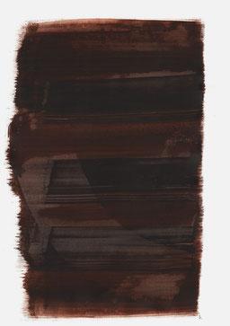 """""""Aufschrei 15:23 Uhr"""", 2017, 48 x 36cm"""