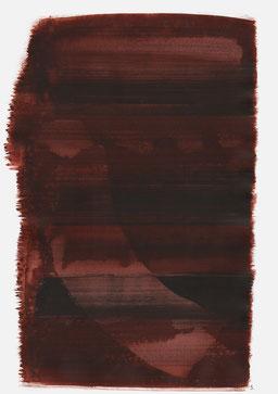 """""""Aufschrei 19:39 Uhr"""", 2016, 48 x 36cm"""