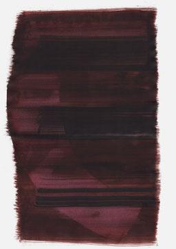 """""""Aufschrei 16:33 Uhr"""", 2017, 48 x 36cm"""