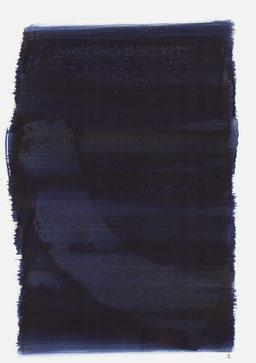 """""""Schrei 00:42 Uhr"""", 2015, 48 x 36cm"""