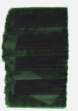"""""""Schrei 13:42 Uhr"""", 2015, 48 x 36cm"""