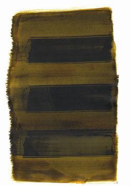"""""""Aufschrei 19:43 Uhr"""", 2016, 48 x 36cm"""