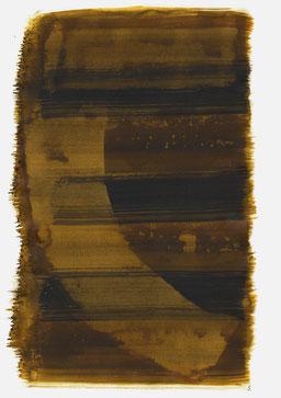 """""""Aufschrei 19:07 Uhr"""", 2016, 48 x 36cm"""