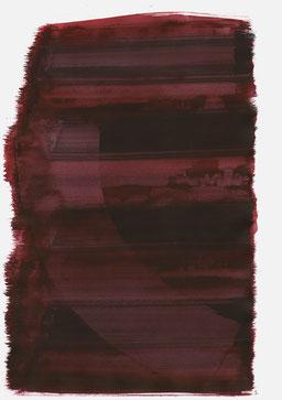 """""""Aufschrei 23:30 Uhr"""", 2016, 48 x 36cm"""