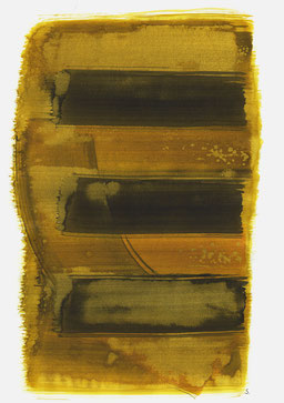 """""""Schrei 13:01 Uhr"""", 2016, 48 x 36cm"""