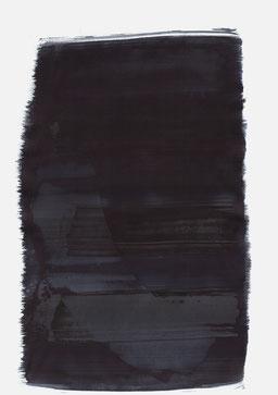 """""""Aufschrei 23:18 Uhr"""", 2016, 48 x 36cm"""
