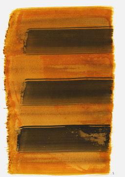 """Serie: """"Helene Taussig"""". """"Aufschrei 11:38 Uhr"""", 2015, 48 x 36cm; ©: Konstanze Sailer"""