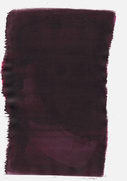 """""""Aufschrei 03:55 Uhr"""", 2017, 48 x 36cm"""
