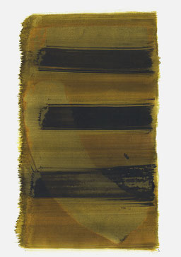 """""""Schrei 09:01 Uhr"""", 2017, 48 x 36cm"""