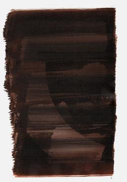 """""""Aufschrei 23:18 Uhr"""", 2015, 48 x 36cm"""