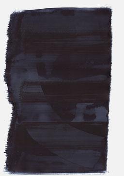 """""""Schrei 04:04 Uhr"""", 2015, 48 x 36cm"""