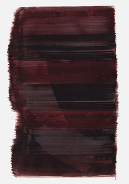 """""""Aufschrei 20:41 Uhr"""", 2015, 48 x 36cm"""
