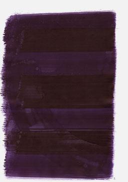 """""""Aufschrei 18:18 Uhr"""", 2015, 48 x 36cm"""
