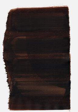 """""""Aufschrei 01:17 Uhr"""", 2015, 48 x 36cm"""