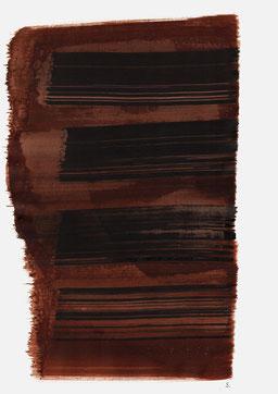 """""""Schrei 19:47 Uhr"""", 2015, 48 x 36cm"""
