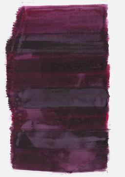 """""""Aufschrei 15:09 Uhr"""", 2017, 48 x 36cm"""
