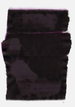 """""""Endloser Schrei 23:47 Uhr"""", 2015, 48 x 36cm"""
