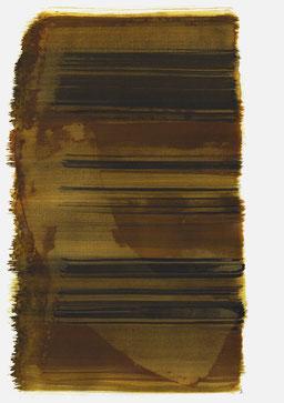"""""""Schrei 16:56 Uhr"""", 2016, 48 x 36cm"""