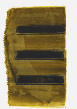 """""""Schrei 17:01 Uhr"""", 2016, 48 x 36cm"""