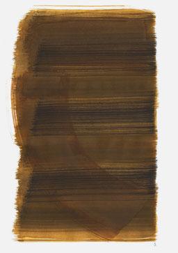 """""""Aufschrei 19:18 Uhr"""", 2016, 48 x 36cm"""